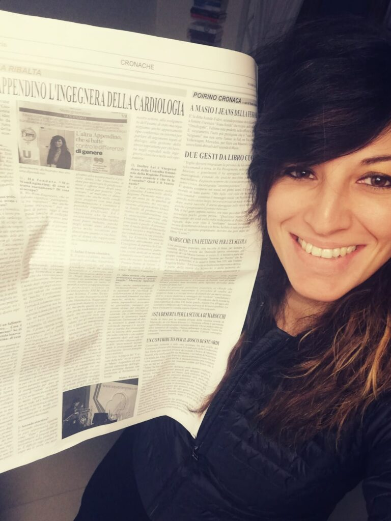 Giovani alla ribalta: MANUELA APPENDINO L'INGEGNERA DELLA CARDIOLOGIA