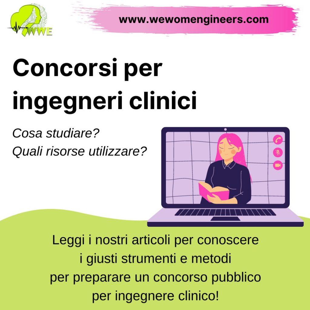Concorsi per ingegneri clinici: strumenti e metodi