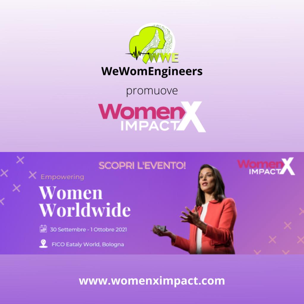 WeWomEngineers dialoga con l' IMPATTO FEMMINILE:  sinergia con WomenX Impact!