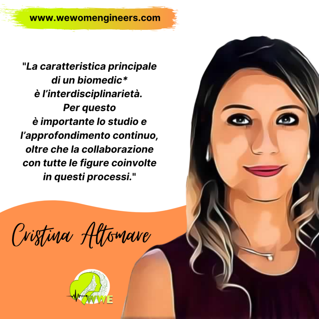 WeWomEngineers incontra l'Ingegnera Cristina Altomare